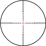 Reticles Mil-Dot CC