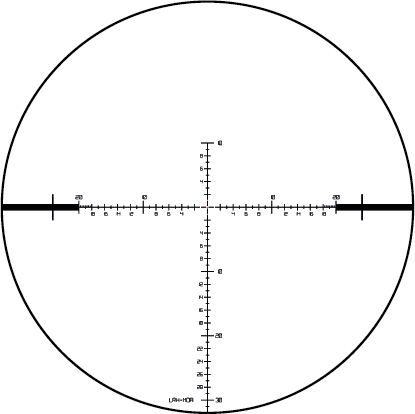 LRH-MOA reticle