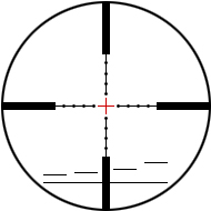 Reticles P4L fein